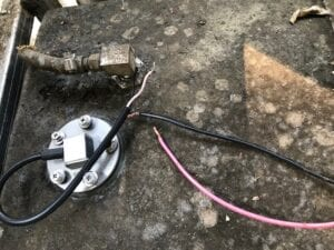 Fuel Sender Installed In Tank