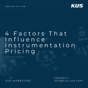 4 Factors That Influence Instrumentation Pricing