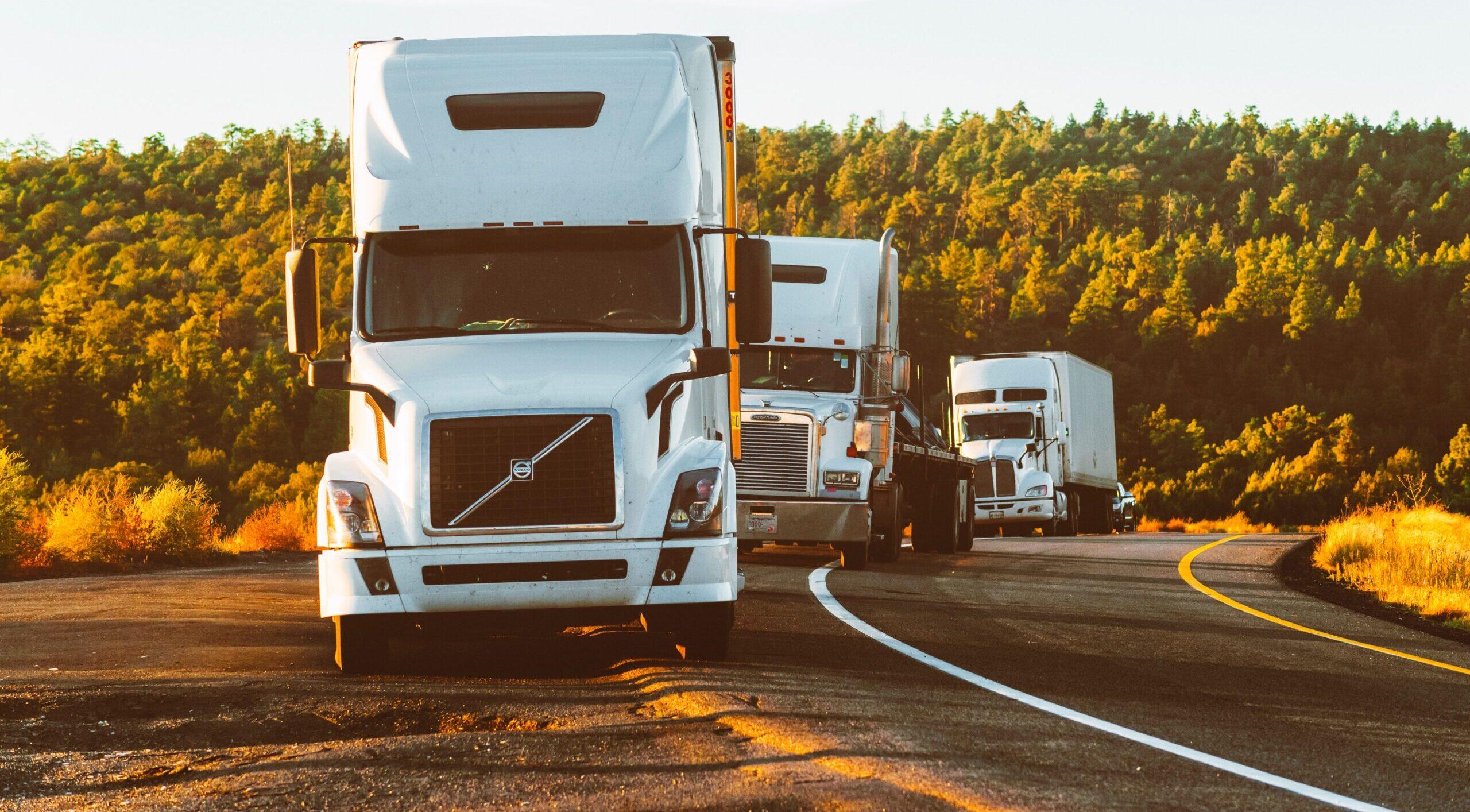 Fleet of Semi-Trucks