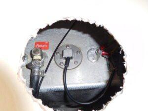 Fuel Level Sender in Fuel Tank