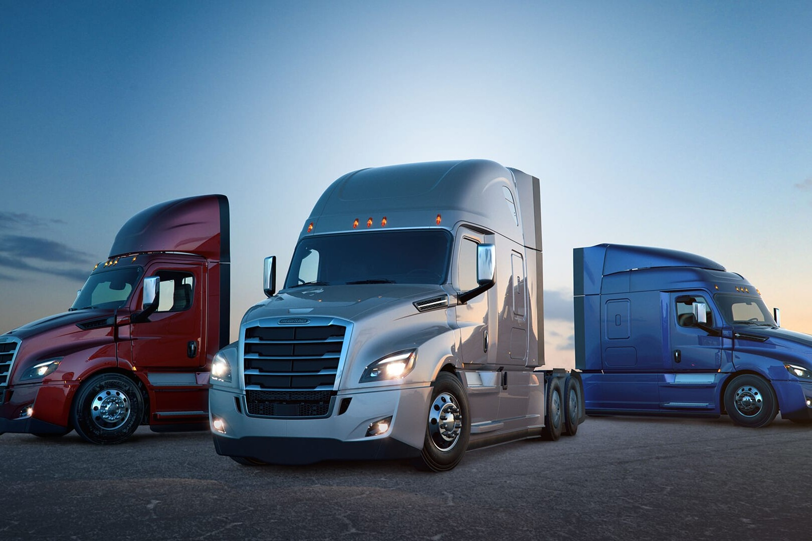 Daimler Freightliners