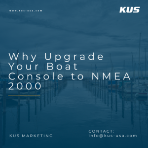 Why Upgrade Your Boat Console to NMEA 2000