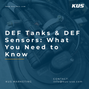 DEF Tanks & DEF Sensors: What You Need to Know